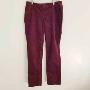 🎃 A new day Burgandy Corduroy Pants Size 6